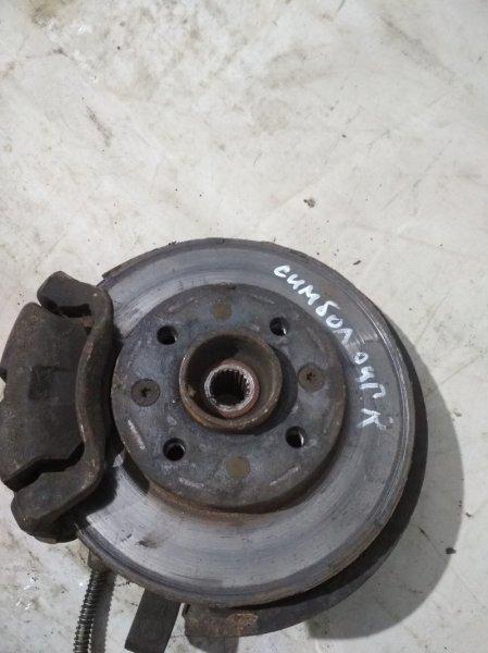 Тормозной диск Renault Symbol 1 LB K7J 2003 (б/у)