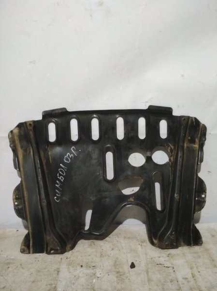 Защита двигателя Renault Symbol 1 LB K7J 2003 передняя (б/у)