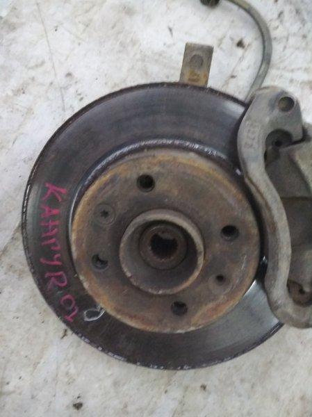 Тормозной диск Renault Kangoo 1 KC E7J 2001 передний правый (б/у)