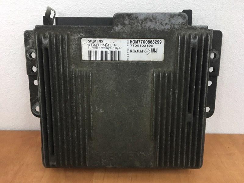 Блок управления двигателем (эбу) Renault Megane 1 1999 (б/у)