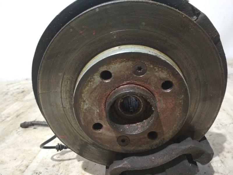 Тормозной диск Renault Symbol 2 LU01 K4JB712 2009 передний правый (б/у)