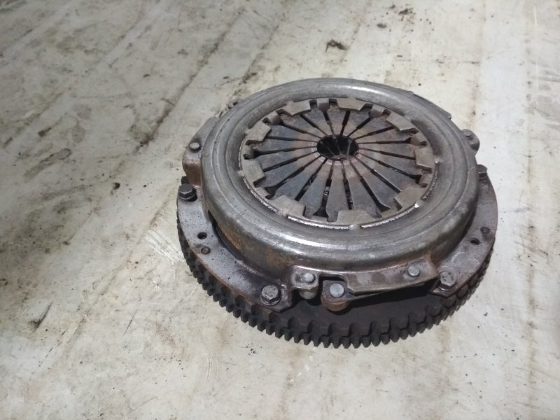 Корзина сцепления Renault Symbol 2 LU01 K4JB712 2009 передняя (б/у)
