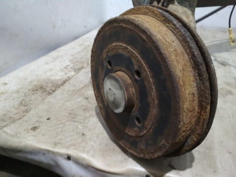 Тормозной барабан Renault Symbol 2 LU01 K4JB712 2009 задний левый (б/у)