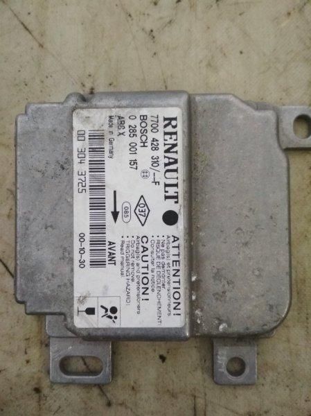 Блок управления srs (безопасности) Renault Clio K7J 1998 (б/у)