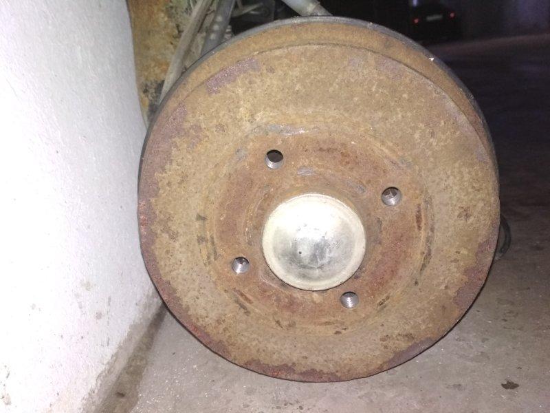 Тормозной барабан Renault Logan 2 L8 K7M задний правый (б/у)