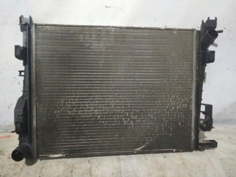 Радиатор охлаждения Renault Logan 2 L8 K7M (б/у)