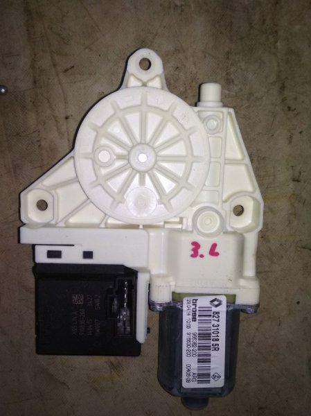Мотор стеклоподъемника Renault Fluence L30R K4M 2012 задний левый (б/у)