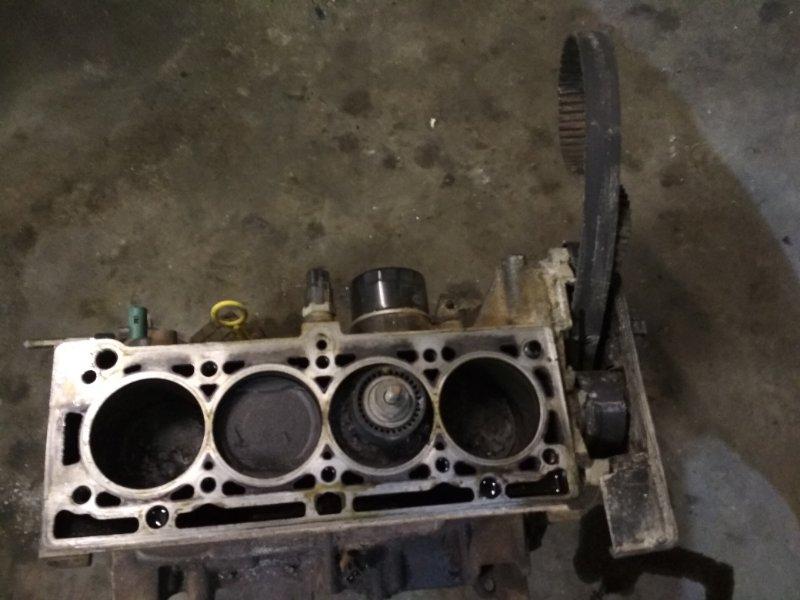 Блок двигателя Renault Megane 1 K4M 2001 (б/у)