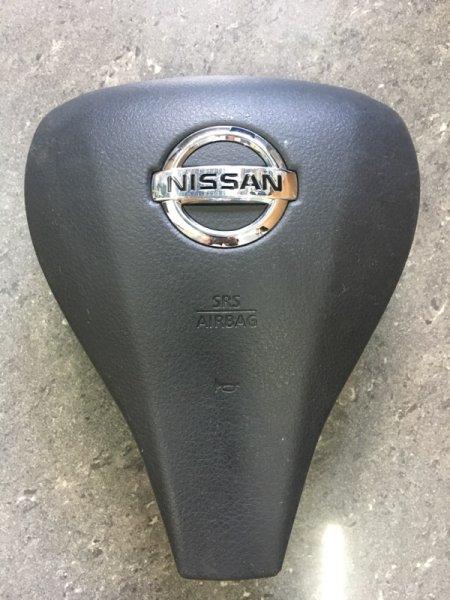 Подушка безопасности в руль Nissan Qashqai J11 2014 передняя левая
