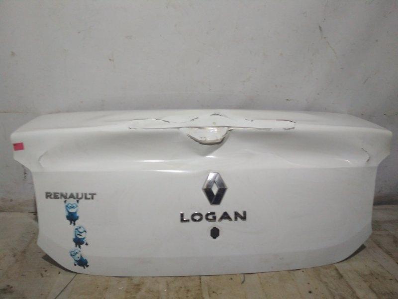 Крышка багажника Renault Logan 2 L8 2016 (б/у)