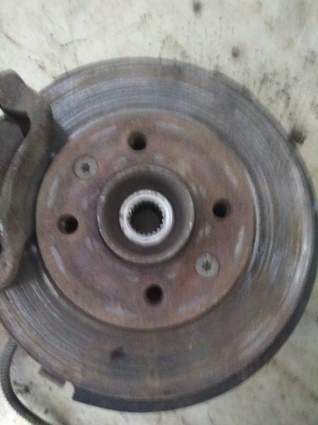 Тормозной диск Renault Symbol 1 LB K7J 2004 передний правый (б/у)