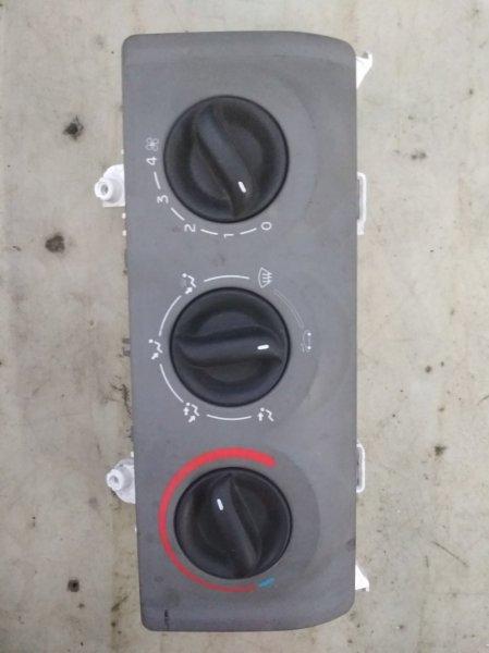 Блок управления отопителем Renault Symbol 2 LU01 (б/у)