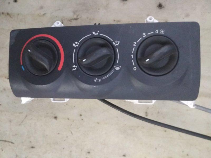 Блок управления отопителем Renault Clio 1 1999 (б/у)