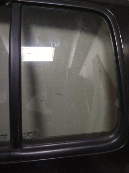 Форточка двери Renault Symbol 1 2004 задняя левая (б/у)