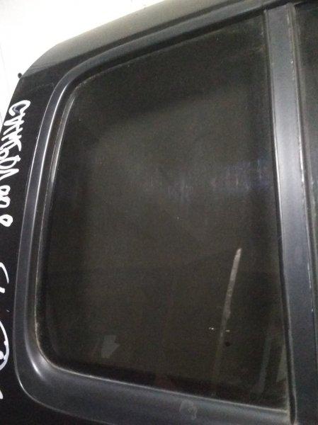 Форточка двери Renault Symbol 1 2005 задняя правая (б/у)