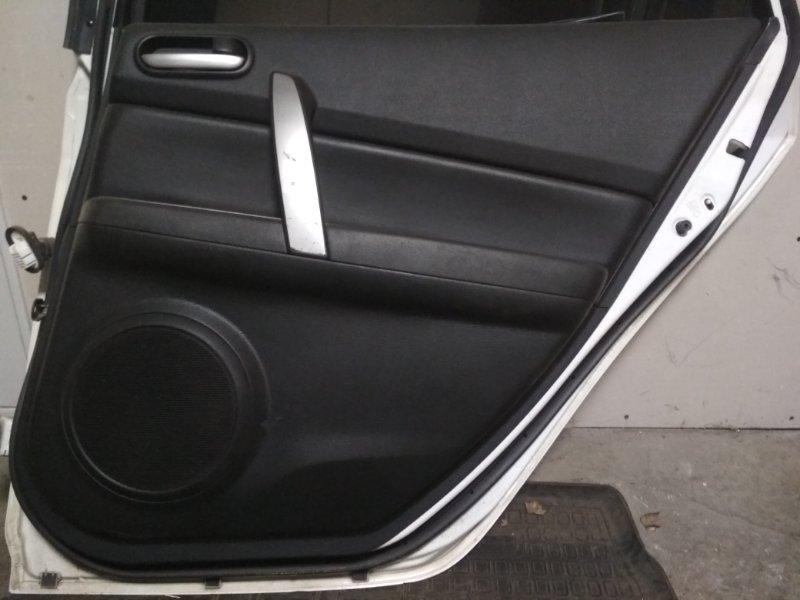 Обшивка двери Mazda 6 2007 задняя правая (б/у)