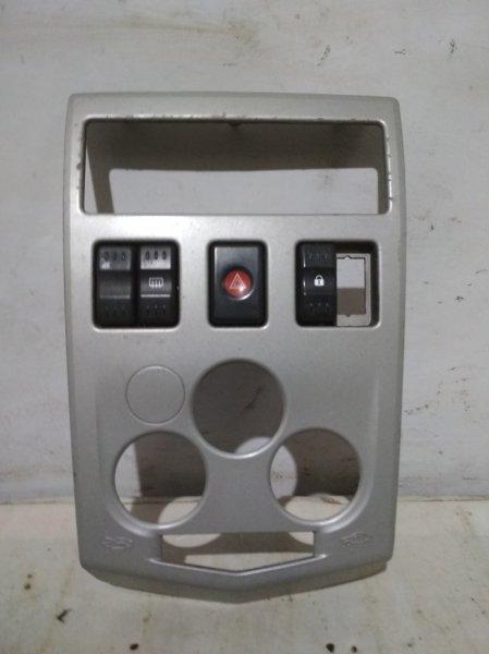 Рамка магнитолы Renault Logan 1 LS0H K7J 710 2008 (б/у)