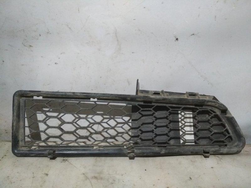 Решетка бампера Renault Logan 1 LS0H 2008 передняя правая (б/у)