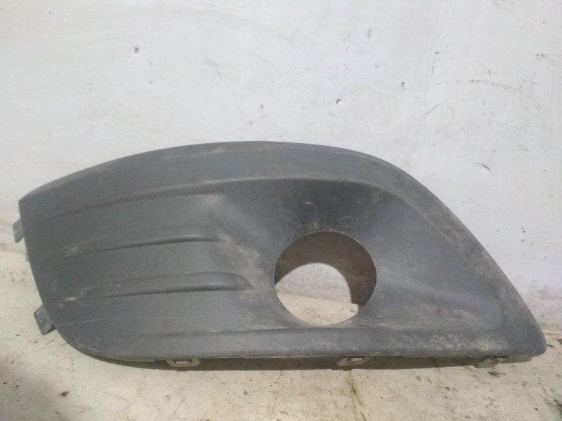 Накладка на бампер Lada Largus 2005 передняя правая (б/у)