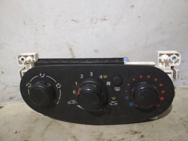 Блок управления отопителем Renault Logan 1 2004 (б/у)