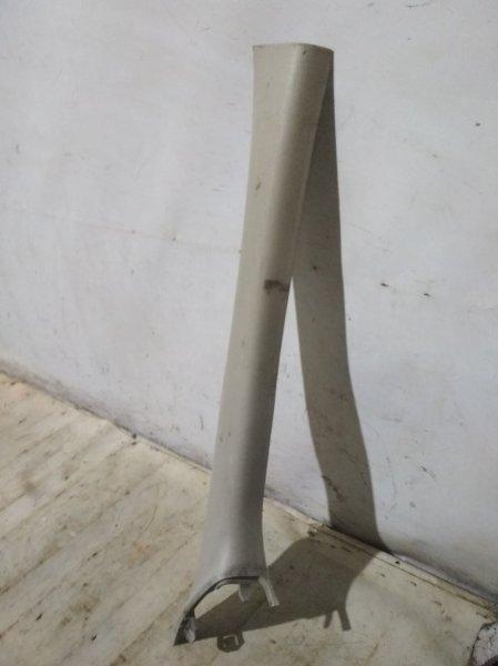 Обшивка стойки Renault Sandero Stepway 1 BS11 передняя правая (б/у)