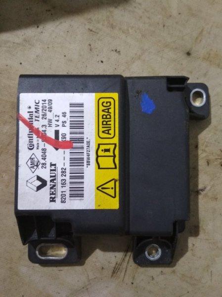Блок управления srs (безопасности) Renault Sandero Stepway 1 BS11 (б/у)