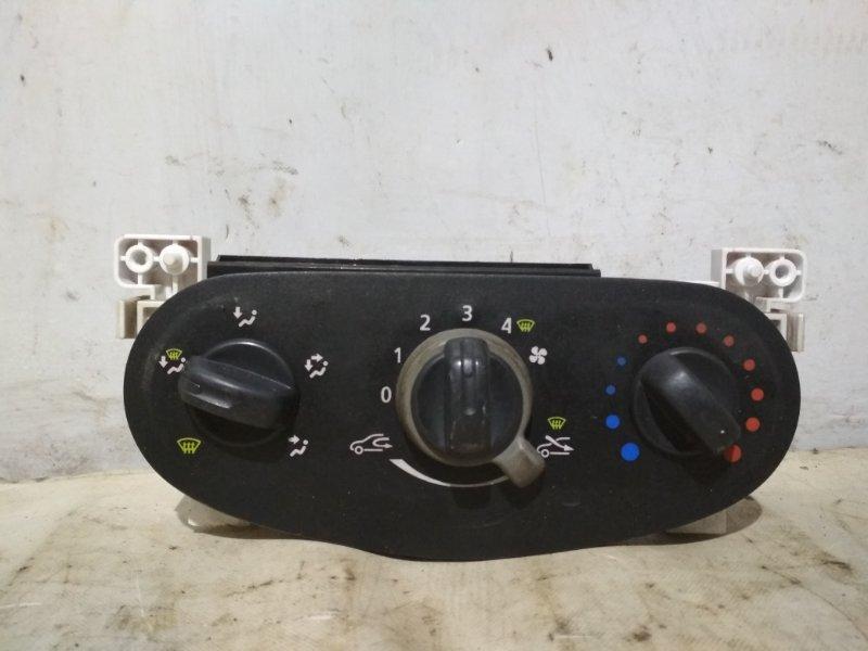 Блок управления отопителем Renault Logan 1 LS K7M 2010 (б/у)