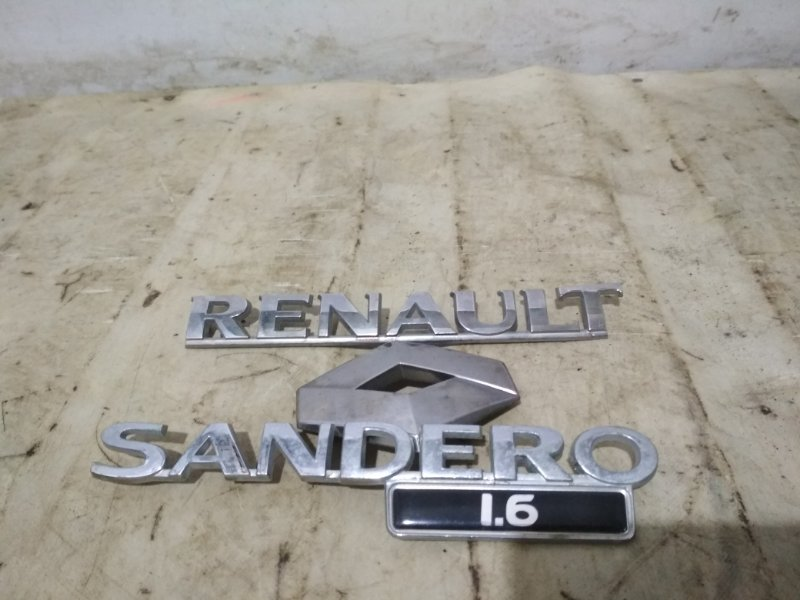 Эмблема Renault Sandero Stepway 1 (б/у)