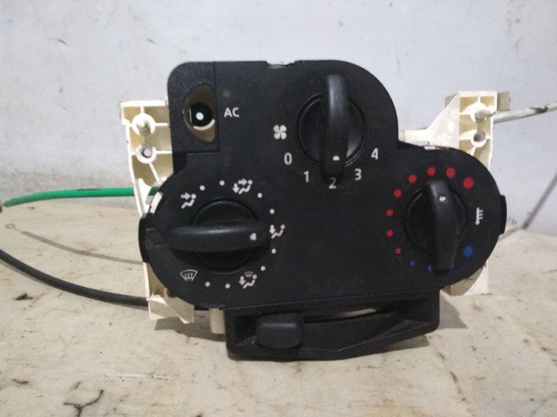 Блок управления отопителем Renault Logan 1 LS0H K7J 710 2008 (б/у)