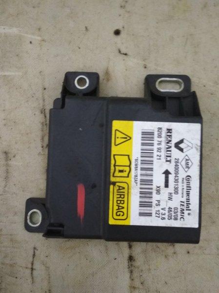 Блок управления srs (безопасности) Renault Logan 1 LS0H K7J 710 2008 (б/у)