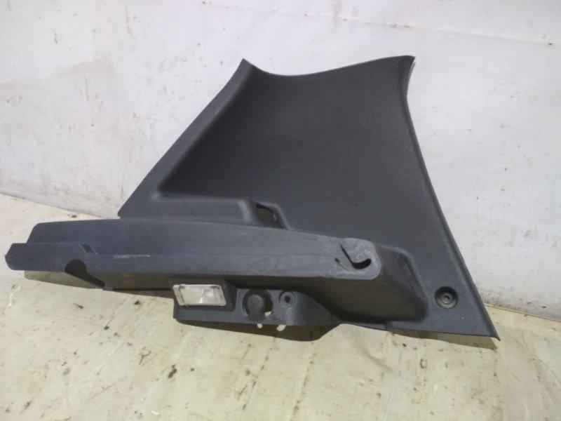 Обшивка стойки Renault Sandero Stepway 1 K7M 710 2011 задняя левая (б/у)