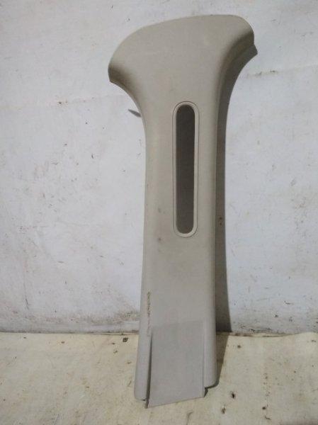 Обшивка стойки Renault Sandero Stepway 1 K7M 710 2011 правая (б/у)