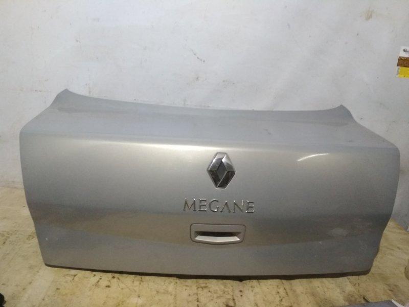 Крышка багажника Renault Megane 2 2004 задняя (б/у)