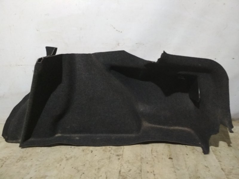 Обшивка багажника боковая Renault Megane 2 2004 задняя правая (б/у)