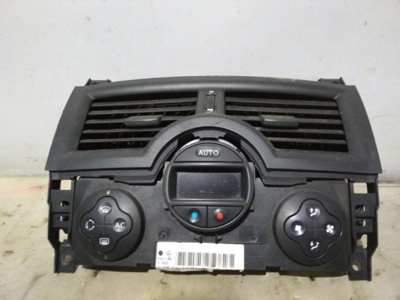 Блок управления климат-контролем Renault Megane 2 2004 передний (б/у)