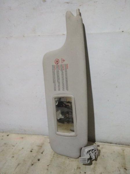 Козырек солнцезащитный Renault Megane 2 2004 передний правый (б/у)