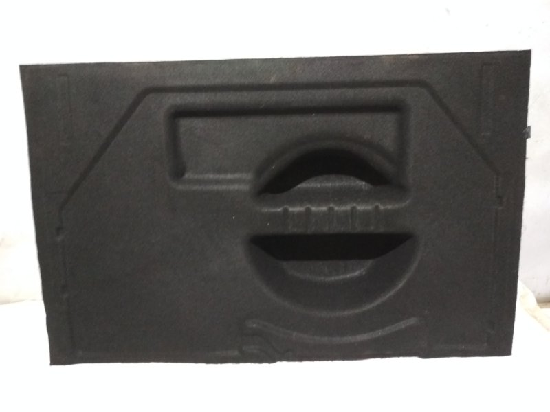 Обшивка пола багажника Renault Megane 2 2004 задняя (б/у)