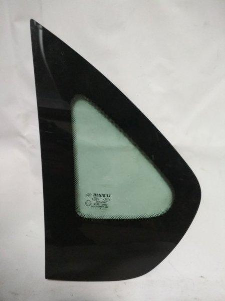 Стекло кузова глухое Renault Symbol 2 LU01 2008 заднее левое (б/у)