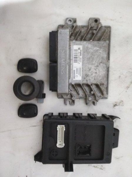 Блок управления двигателем (эбу) Renault Symbol 1 1998 (б/у)