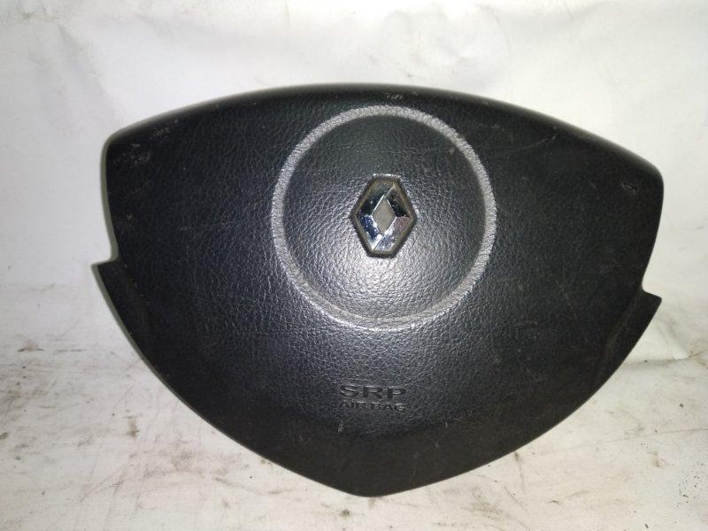 Подушка безопасности в руль Renault Symbol 1 K4J 2005 передняя левая (б/у)