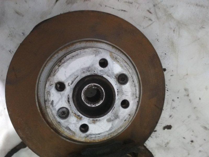 Тормозной диск Renault Logan 1 LS K7M 2011 передний левый (б/у)