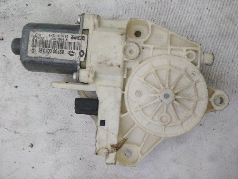 Мотор стеклоподъемника Renault Fluence задний правый (б/у)