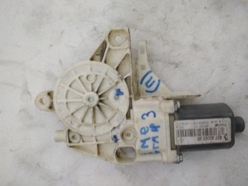 Мотор стеклоподъемника Renault Megane 3 задний правый (б/у)