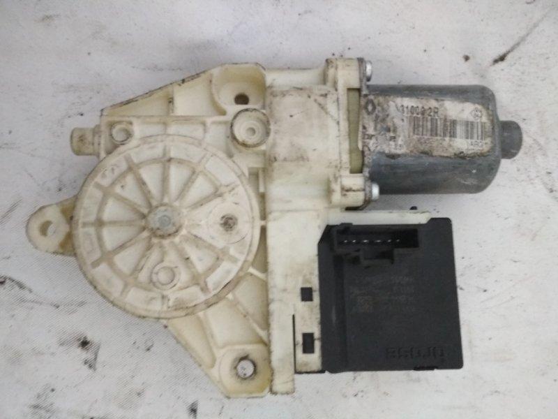 Мотор стеклоподъемника Renault Megane 3 задний левый (б/у)
