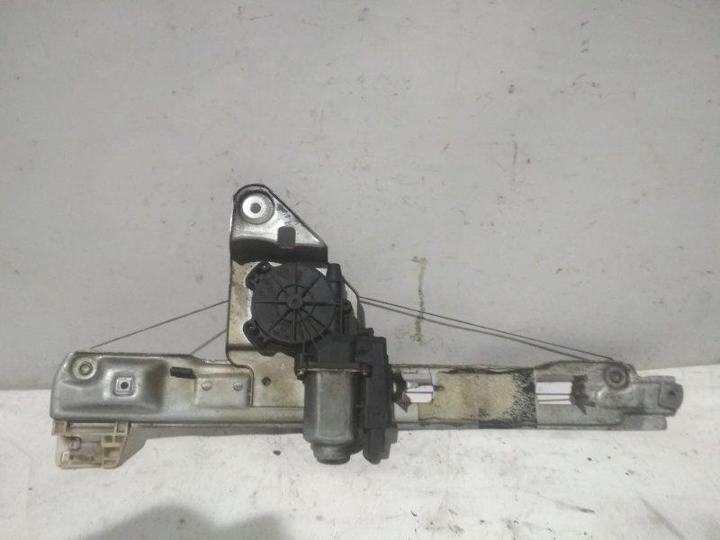 Электростеклоподъемник Renault Megane 2 задний левый (б/у)