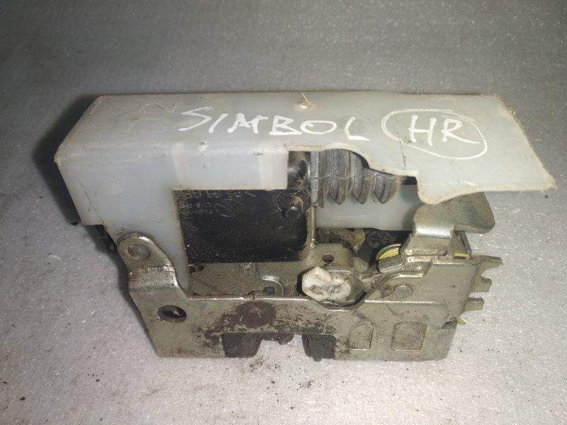 Замок двери (электро) Renault Symbol 1 К7J 2002 передний правый (б/у)