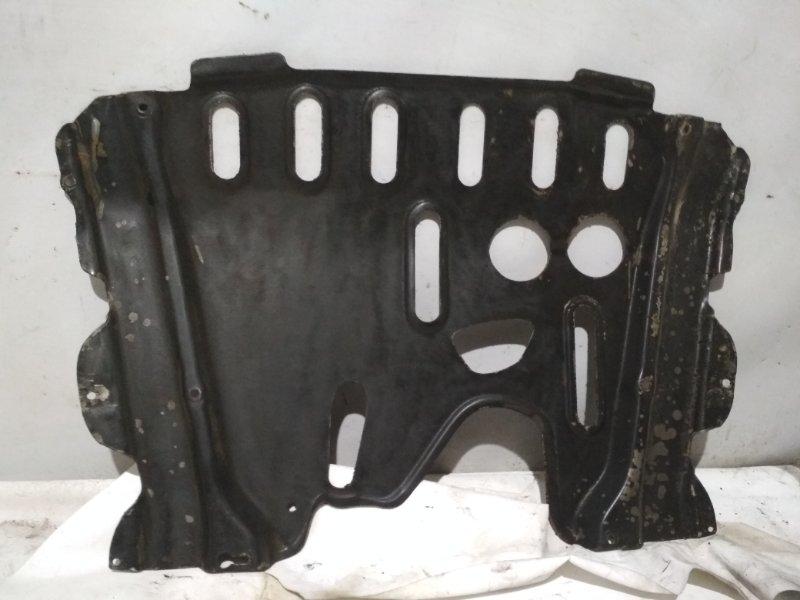 Защита двигателя Renault Symbol 2 LU01 K4MA744 2011 передняя (б/у)