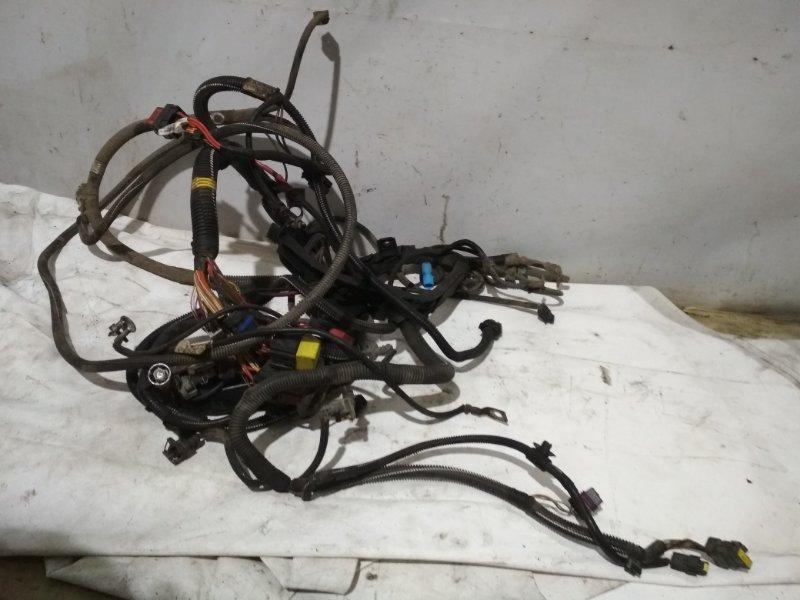 Проводка подкапотная Renault Symbol 2 LU01 K4MA744 2011 (б/у)