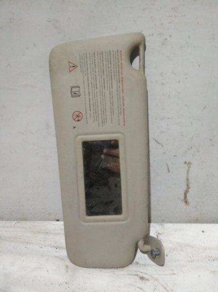 Козырек солнцезащитный Renault Symbol 2 LU01 K4MA744 2011 передний правый (б/у)