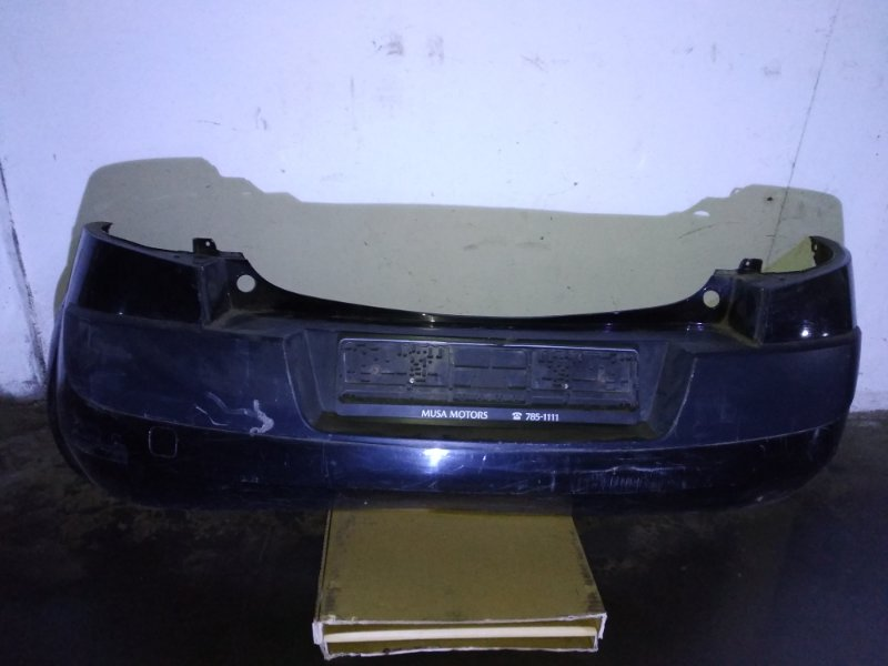Бампер Renault Megane 2 2002 задний (б/у)